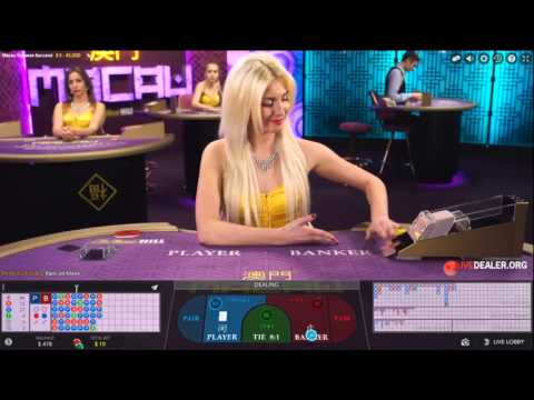 Live baccarat @ William Hill Macau