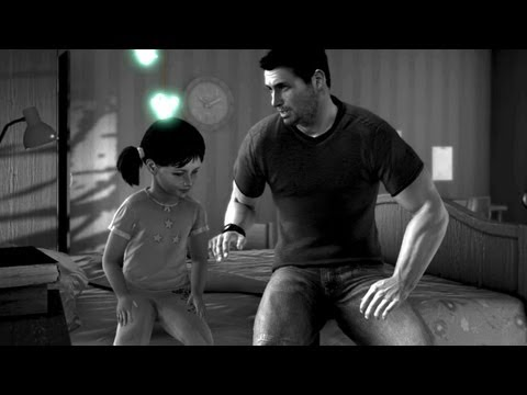 Little Sarah And Sam. Fisher Protects His Daughter. Flashback (Splinter Cell: Conviction)