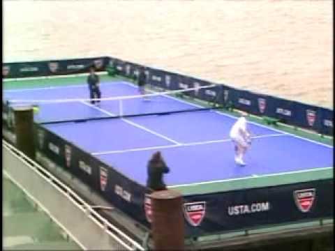 USTA Barge Battle: Billie Jean King vs. John McEnroe