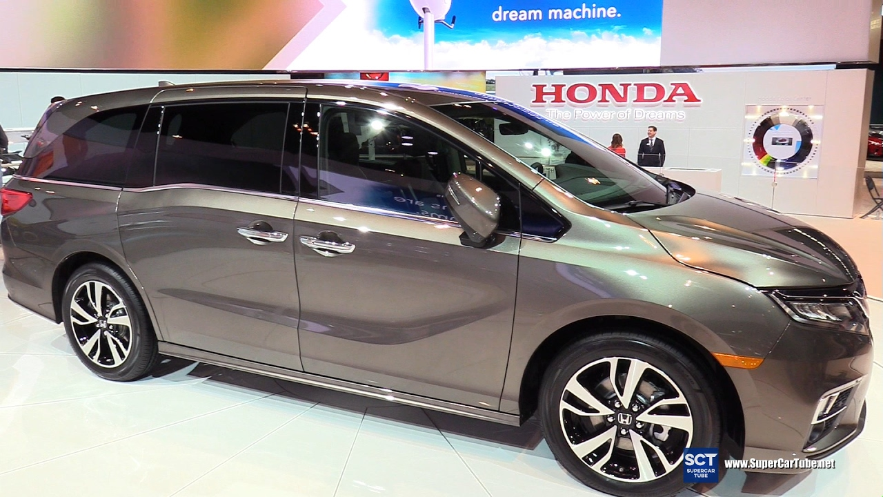 2018 Honda Odyssey Elite Exterior And Interior Walkaround 2017 Chicago Auto Show You