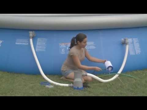 tubo della piscina hook up