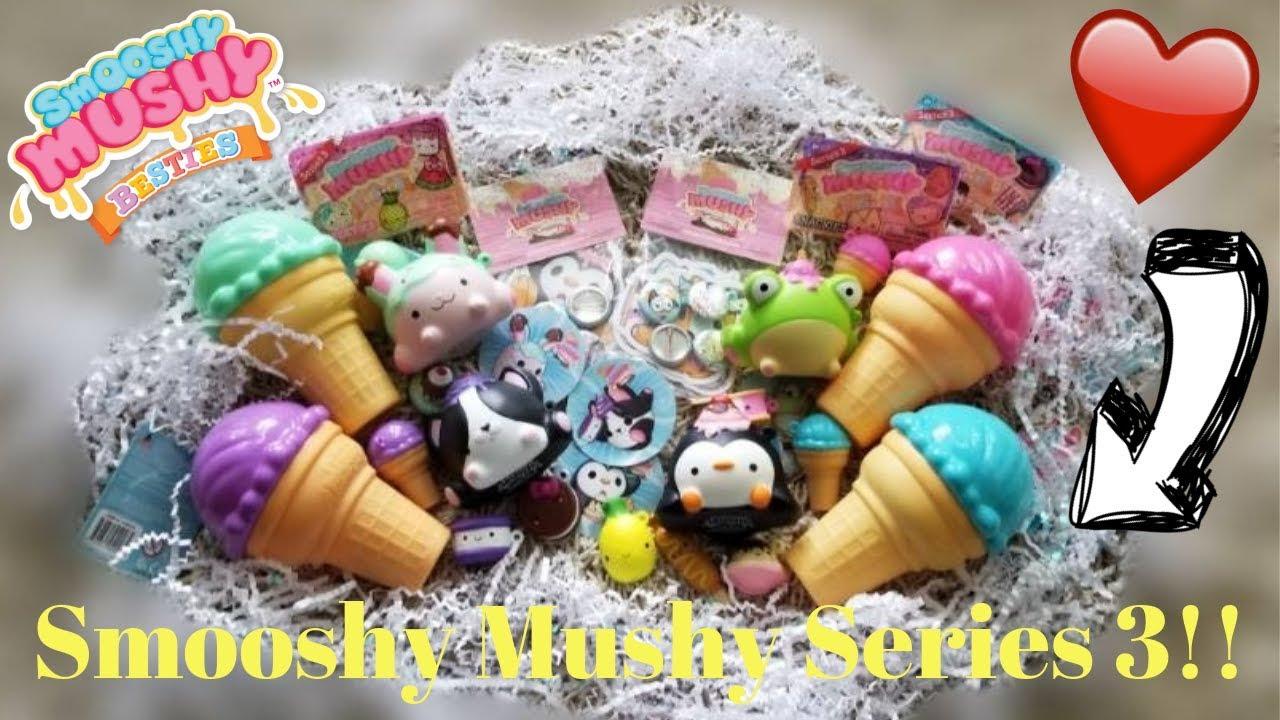 ICE CREAM GALORE!! // Smooshy Mushy Series 3!!