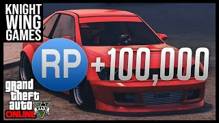 GTA 5 ONLINE: THE FASTEST WAY TO LEVEL UP | 10,000 RP IN UNDER 8 MINUTES
