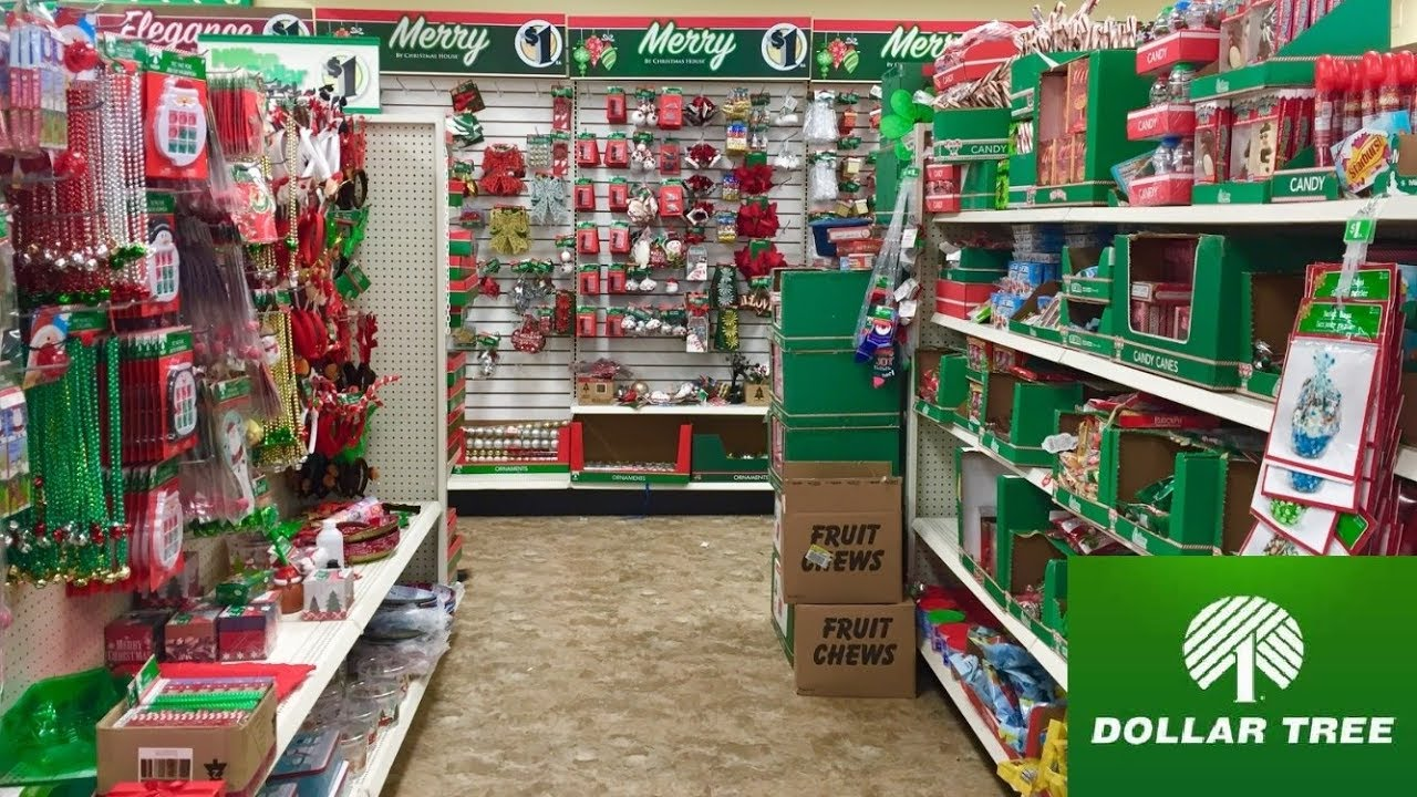 [VIDEO] - DOLLAR TREE NEW CHRISTMAS 2019 CHRISTMAS DECOR DECORATIONS SHOP WITH ME SHOPPING STORE WALK THROUGH 1
