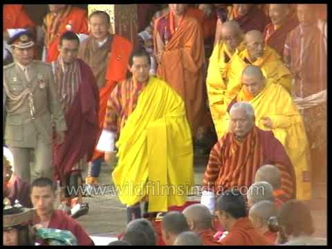 Fourth King of Bhutan : rare archival footage from the Land of the Thunder Dragon