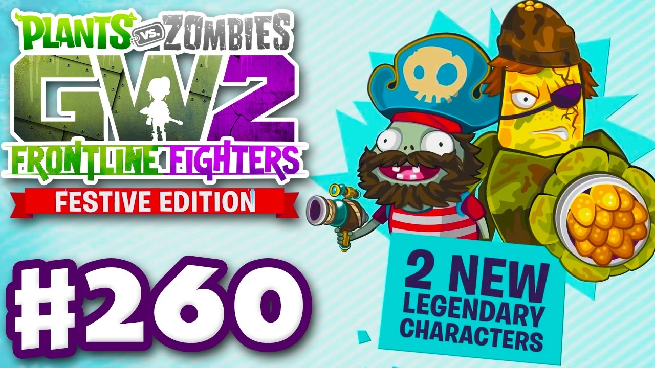 FRONTLINE FIGHTERS! Festive Edition! - Plants vs. Zombies ...