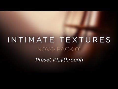 Heavyocity - Intimate Textures - Preset Playthrough