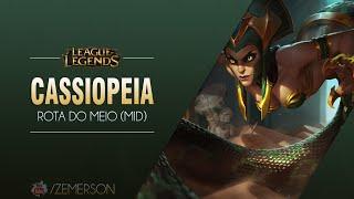 League of Legends -  Cassiopeia (Season 5: BR)