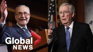 Trump impeachment: McConnell, Schumer speak following Trump's acquittal