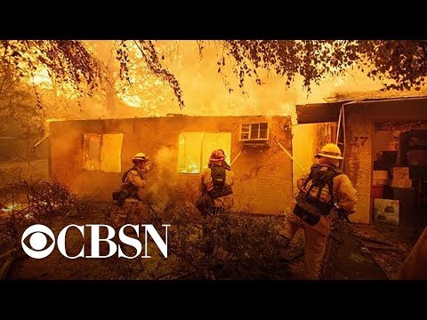 Death toll jumps as wildfires rage across California