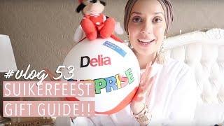Suikerfeest gift guide!! Vlog #53. | Delia Skin Master