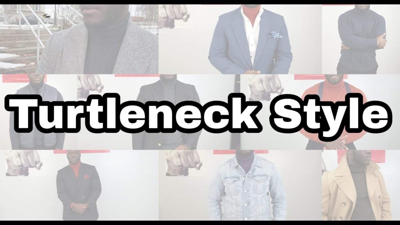 10 Ways To Wear A Turtleneck/How To Style A Turtleneck