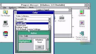 Windows 3.1 on Virtual PC (virtualbox)