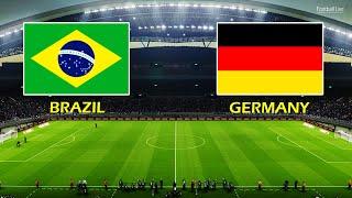 PES 2021 BRAZIL vs GERMANY Olympic Games TOKYO 2020 Football Full Match All Goals HD