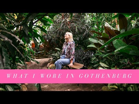 WHAT I WORE & ATE IN GOTHENBURG, SWEDEN - TRAVEL VLOG I KAJA-MARIE