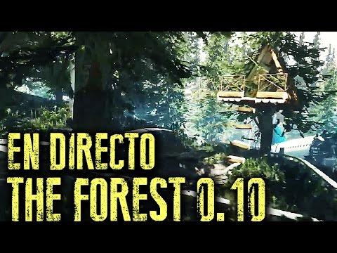Directo THE FOREST 0.10 - el cohete volador!!!   Gameplay Español
