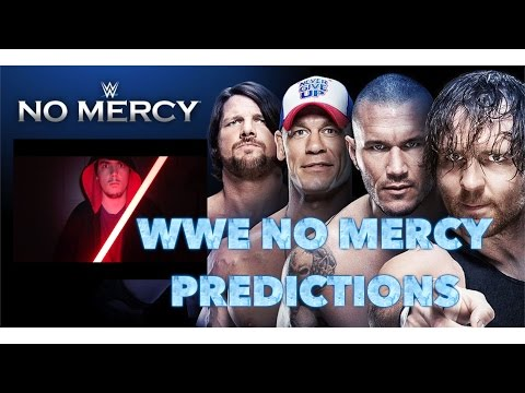 WWE No Mercy 2016 Predictions