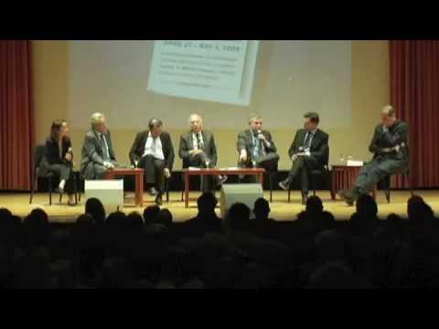 8 Sept 2009 - 7 of 9 - George Soros,  Paul Krugman, Nouriel Roubini - Economic Crisis - PEN
