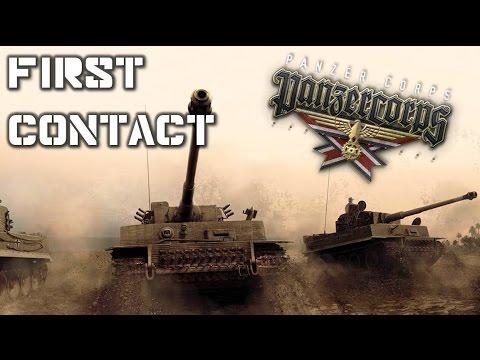 [FR] Panzer Corps - First Contact - Il est beau mon blindé