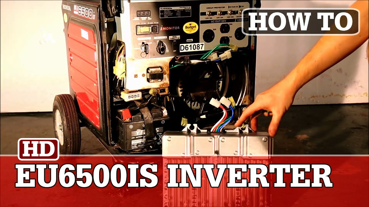 Honda Eu6500is Generator Inverter Replacement Youtube