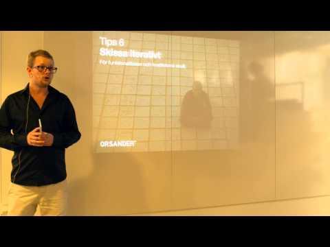 Stärk din design med Usability - Pierre Orsander