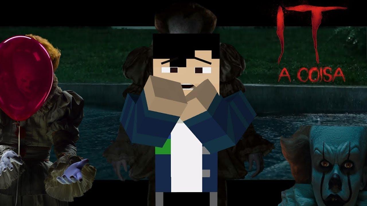 Minecraft: MAPA DA CASA DO IT A COISA ( não recomendado para medrosos )
