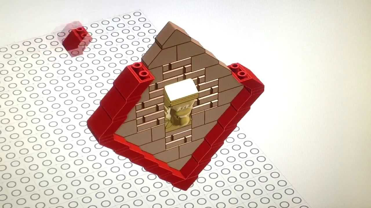 Lego New Aa Roof Tile Slope Brick System Concept Standard