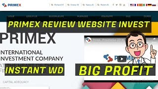 Update Scam  Primex Review Best Investment Site With Trading And Mining Crypto
