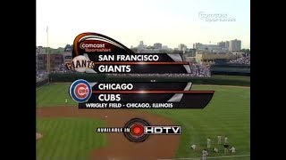 92 - Giants at Cubs - Tuesday, July 17, 2007 - 7:05pm CDT - CSN Chicago