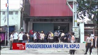 Polisi Ungkap Keberadaan Pabrik Pil Koplo Terbesar di Indonesia di Yogyakarta #iNewsMalam 28/09