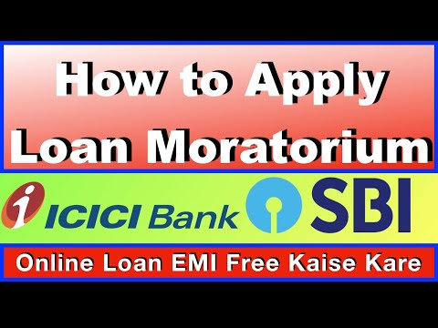 how-to-apply-moratorium-live-i-icici,-hdfc,-sbi,-bajaj,-setup-by-setup-guide-i-loan-emi-i-home-loan