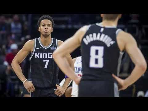 Kings' Labissiere out against Jazz with shoulder injury
