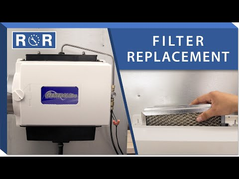 Humidifier Pad: Repair and Replace (GeneralAire GF-1042)