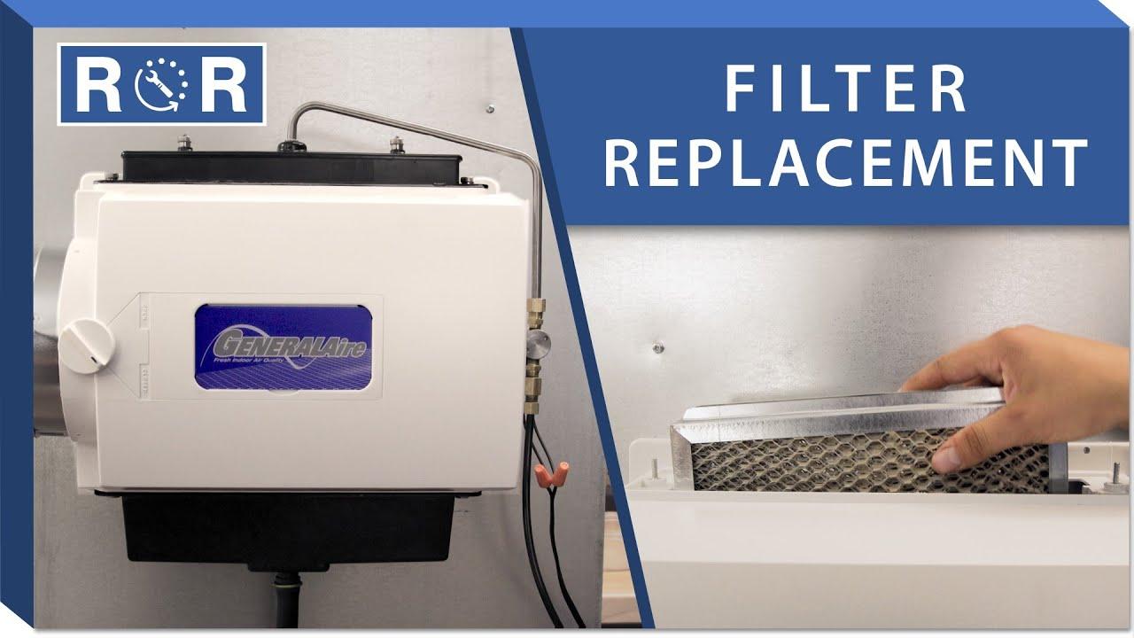 humidifier pad repair and replace generalaire gf 1042  [ 1280 x 720 Pixel ]