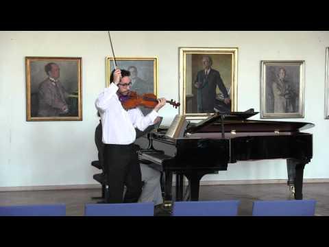 Vasilis Soukas : Bachelor examination recital SIbelius Academy 22/3/2016 (part 2)