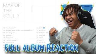 BTS (방탄소년단) Map of the Soul: 7 - Album Reaction