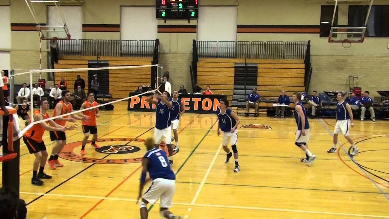 IPFW vs. Princeton - 5th Set - Mens Volleyball - YouTube