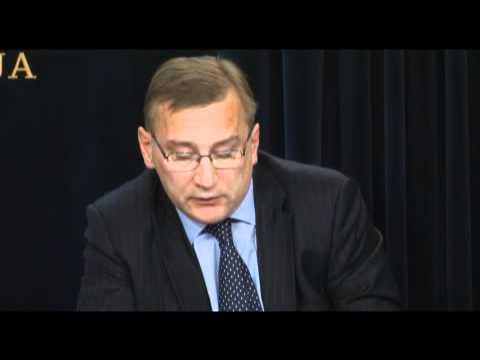 Majandus- ja kommunikatsiooniminister ning peaminister Rail Baltica projektist