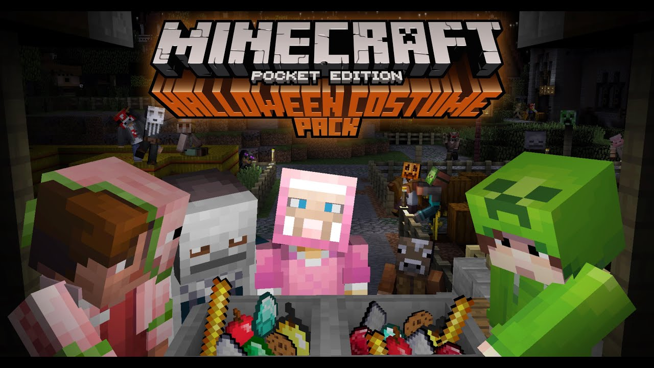 Скачать Minecraft Pocket Edition (PE) 1.2.10.2