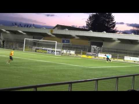 Annan Athletic v Greystone Rovers over 15's Gala Bank Match Highlights 30.11.14