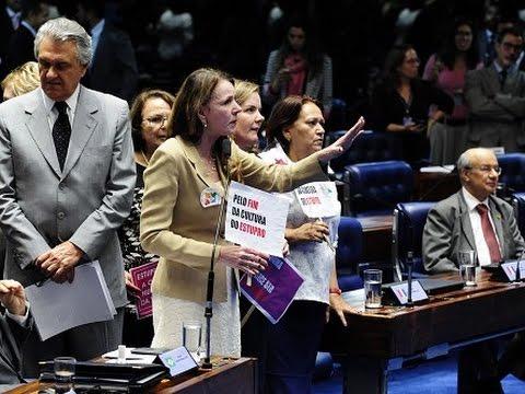 Senado aprova pena mais severa para estupros coletivos