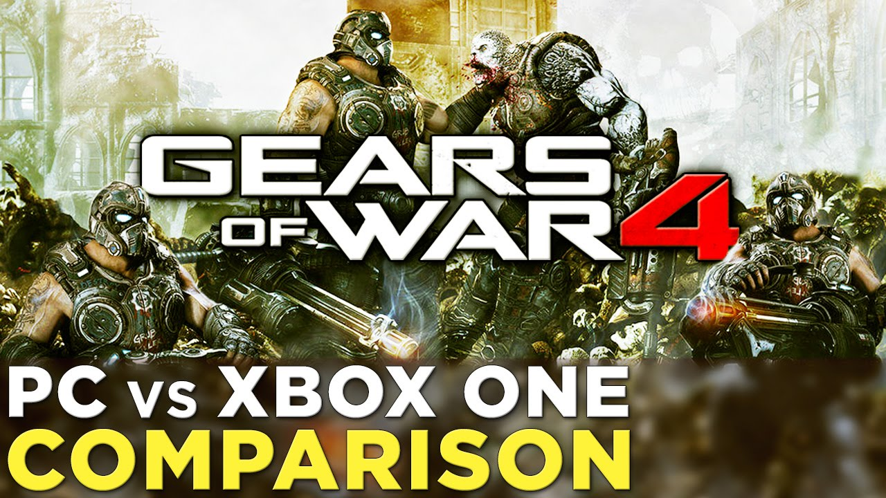 We compared Gears of War 4 on PC and Xbox One - Polygon