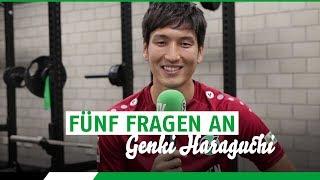 Spieler-Porträt 2018/19 | Genki Haraguchi