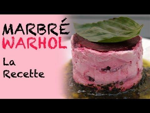 Recette : marbré Warhol