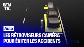 Pour une meilleure visibilité les constructeurs misent sur les rétroviseurs caméra