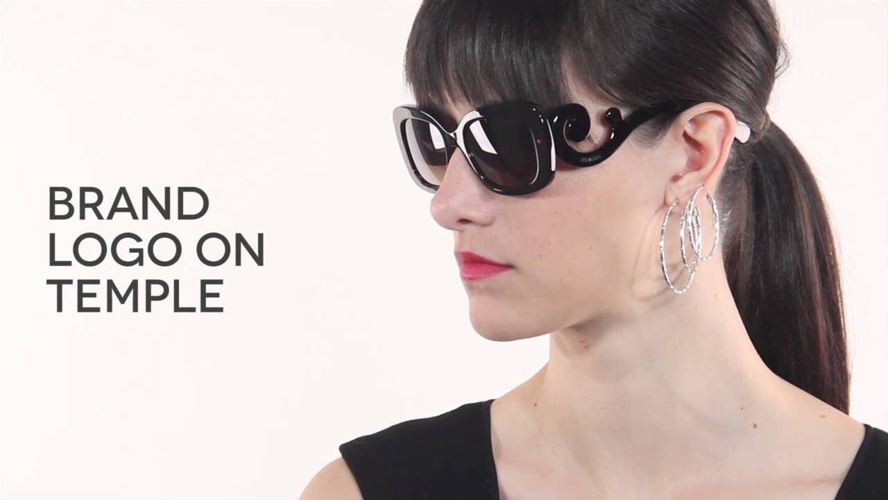 0e8f097eb7dd Prada Baroque PR27OS 2AU6S1 Sunglasses Review | SmartBuyGlasses - YouTube