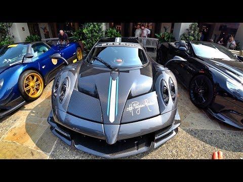 Парковка на МИЛЛИАРДЫ!! + SHMEE150! Pagani, McLaren, Ferrari и другие…) Pebble Beach – день 1.