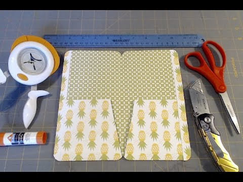 DIY Tutorial for My Favorite Traveler's Notebook 2-Pocket Folder