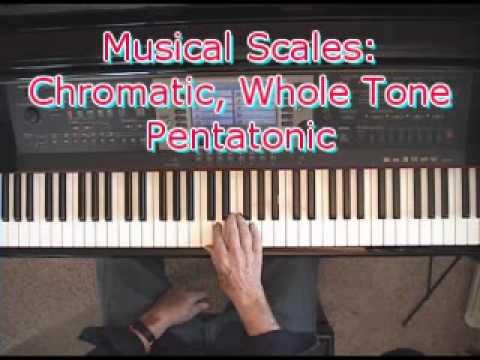 Musical Scales: Chromatic, Whole Tone & Pentatonic Scales.wmv