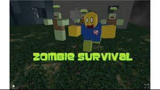 Roblox Survival (Similaire à Zombie Tag)